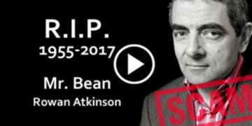 Mr. Bean no ha muerto: es una ciberestafa